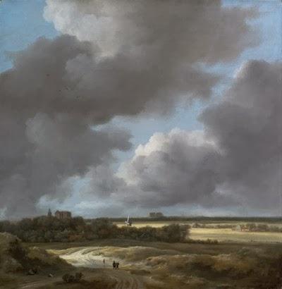 Jacob Isaaackisz van Ruisadael, Veduta di Alkmaar copia